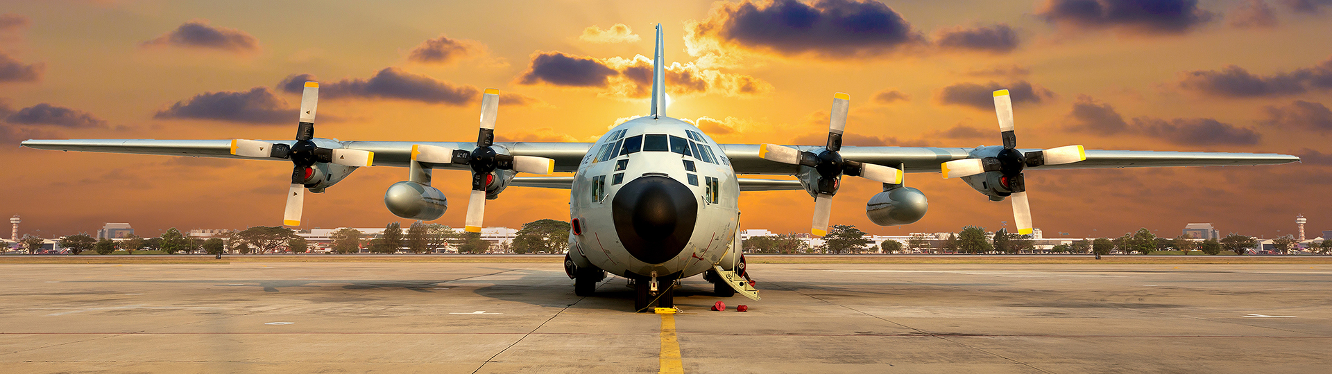 Lockheed Martin C-130 Transport Aircraft